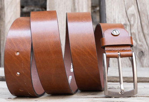 Mens Genuine Leather Casual Belt