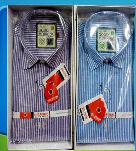 Mens Stripe Cotton Shirt