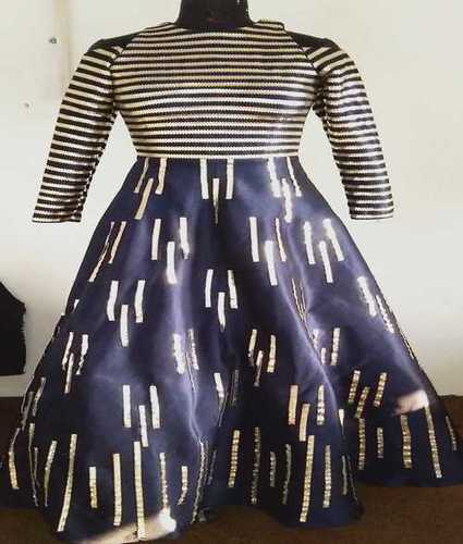 Navy Blue Ladies Gowns
