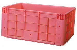 Plastic Moulded Fish Crate