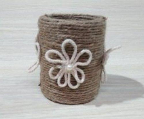 Rope Flower Pot