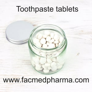 Safe to Use Toothpaste Tablets