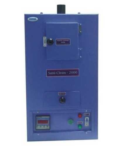 Sanitary Napkin Incinerator Machine