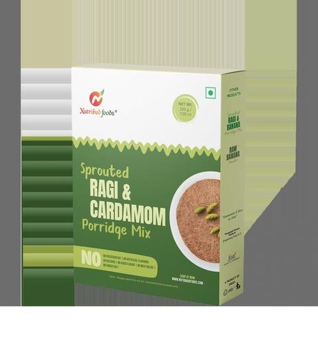 Sprouted Ragi And Cardamom Porridge Mix