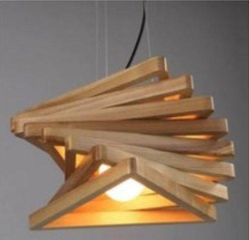 Wooden Hanging Chandelier