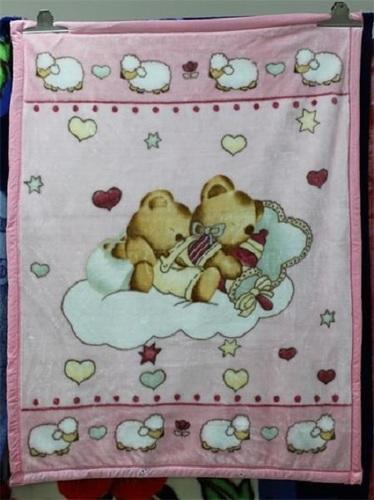 100% Polyester Baby Blanket YKB1937