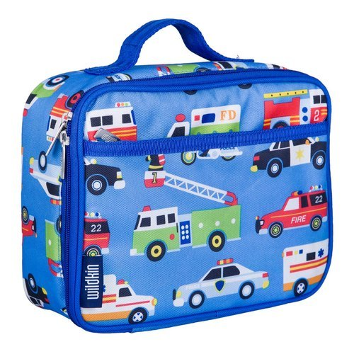 Blue Printed Lunch Bag