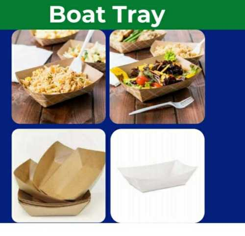 Boat Style Packaging Tray