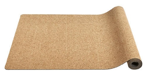 Brown Cork Yoga Mat
