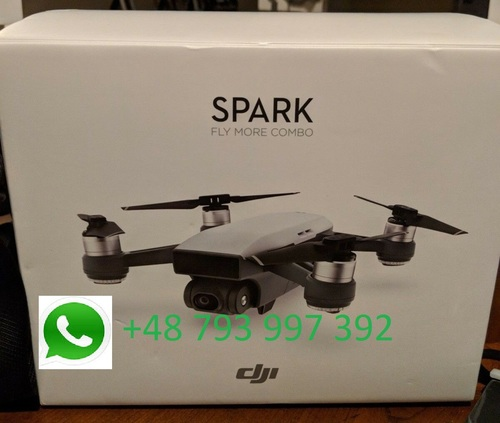 DJI Spark Quadcopter Drone Fly More Combo Alpine White Drone