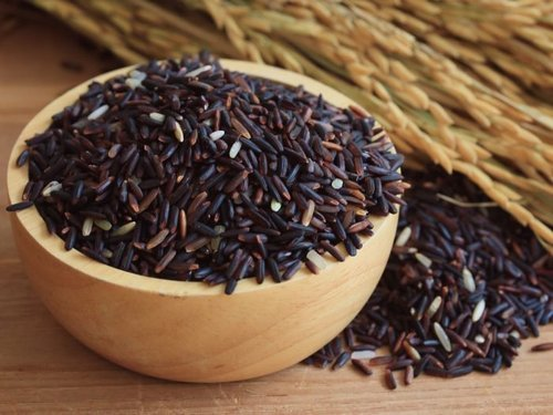 Dried Natural Black Rice