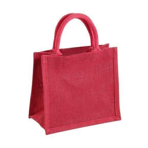 Fine Finish Jute Lunch Bag