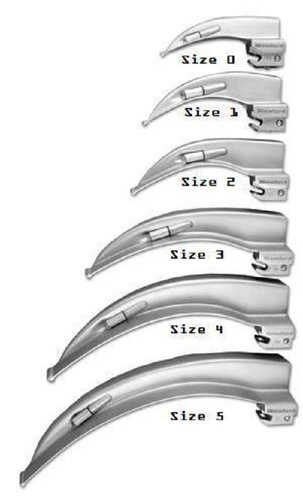 Laryngoscope Mack Blade For Hospital