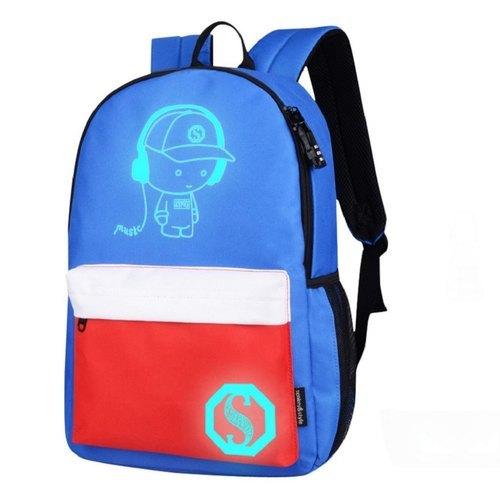 Light Weight Boys School Backpack