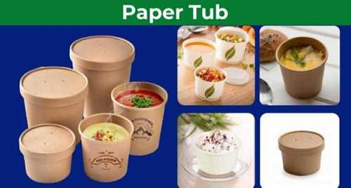 Round Shape Paper Box