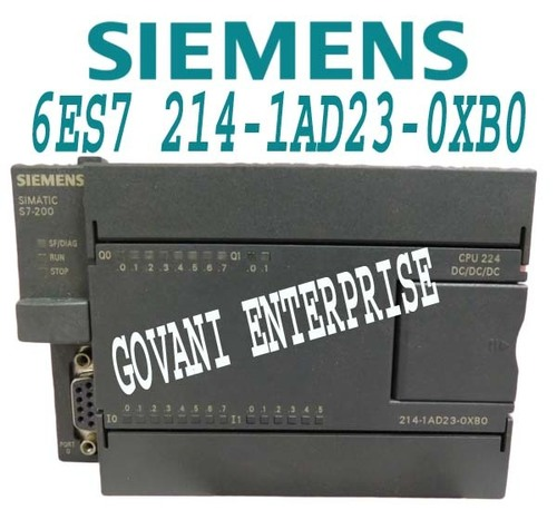 Siemens 6ES7 214-1AD23-0XB0 Simatic S7-200 CPU Module DC Power Supply