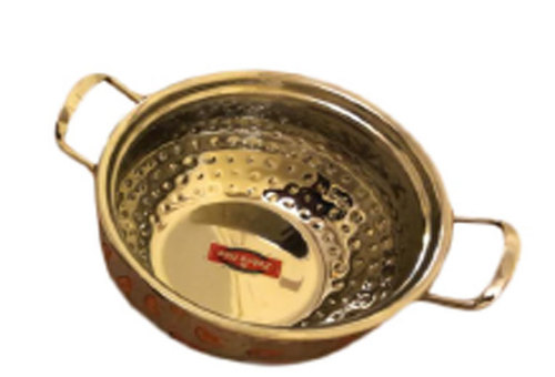 Stainless Steel Kadhai With Handle
