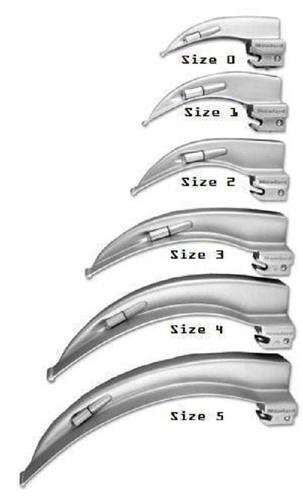 Stainless Steel Laryngoscope Mack Blade