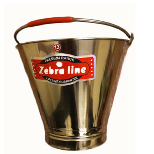 Stainless Steel Polished Bucket