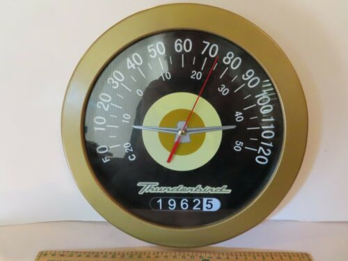 Thunderbird Wall Mount Thermometer