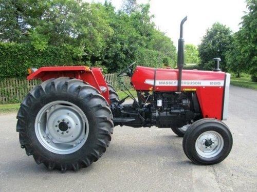 Used Tractor MF-265 (Massey Ferguson)
