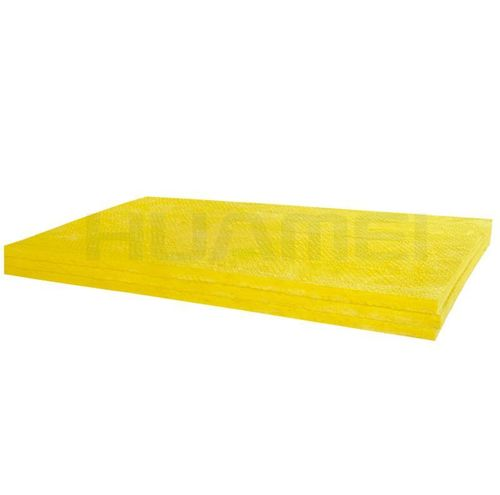 Yellow Air Conditioning Glass Wool Board