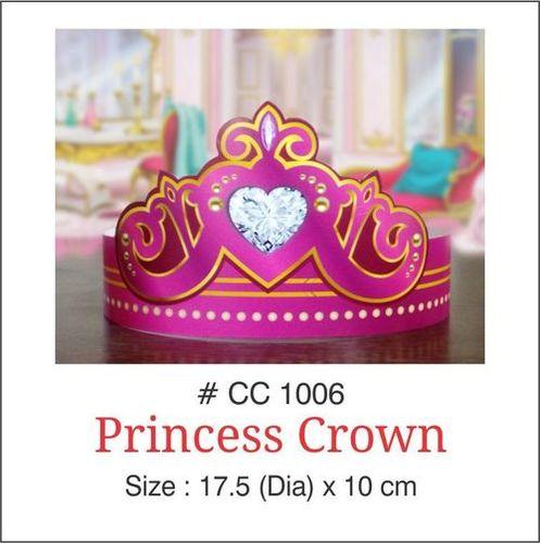Birthday Paper Princess Crown