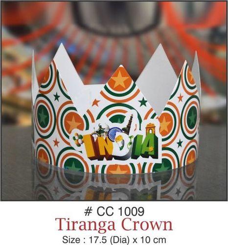 Birthday Paper Tiranga Crown