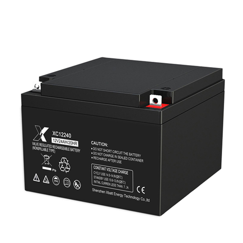 Black Colored Lead Acid Battery For Solar System