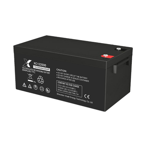 Black Colored Rechargeable Lead Acid Battery For Solar System