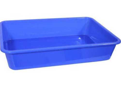 Blue Color Plastic Tray