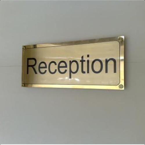 Brass Engraved Name Plate
