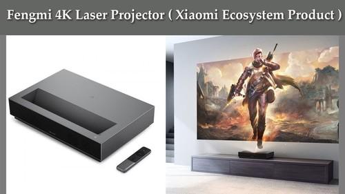 CHIQ B5U 4K UHD Ultra Short Throw DLP Laser Projector