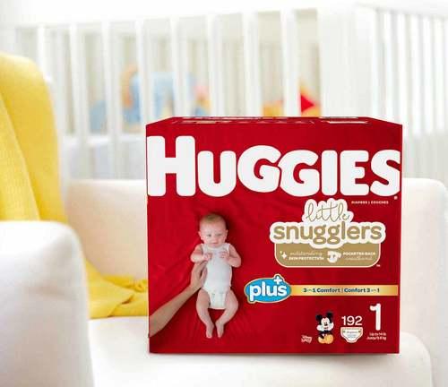 Disposable Baby Diapers (Huggies)
