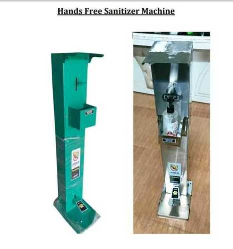 Hands Free Sanitizer Machine