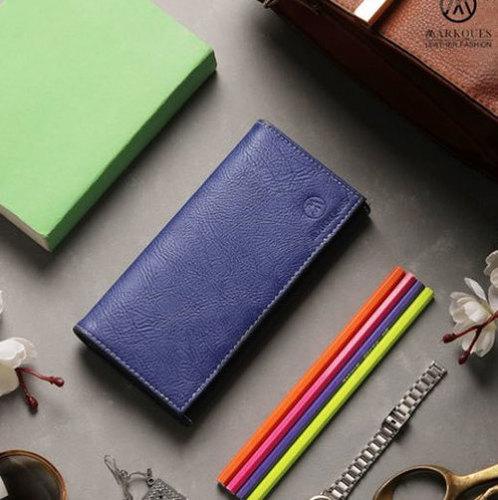 Ladies Fashion Leather Wallet Purse Clutch