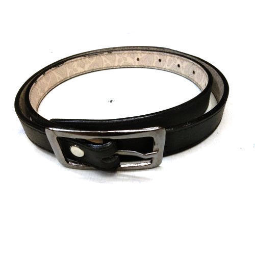 Black, Brown Mens Black Leather Fashion Belt