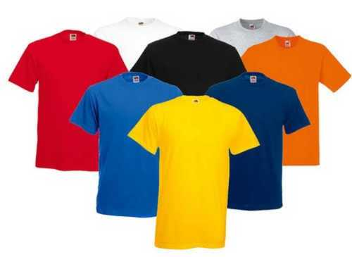 Mens Round Neck Short Sleeves T Shirts