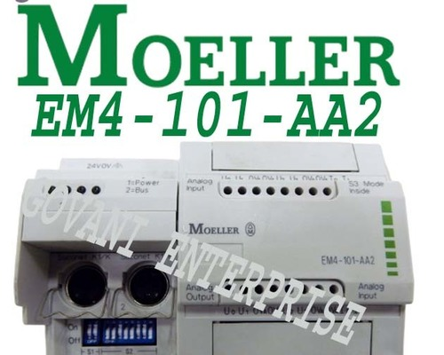 Moeller EM4-101-AA2 I/O Module Analog 8 Input 24 VDC