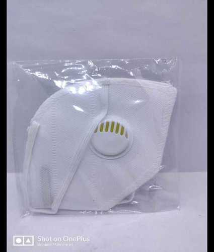 N95 Mask With Exhalation Filter Valve