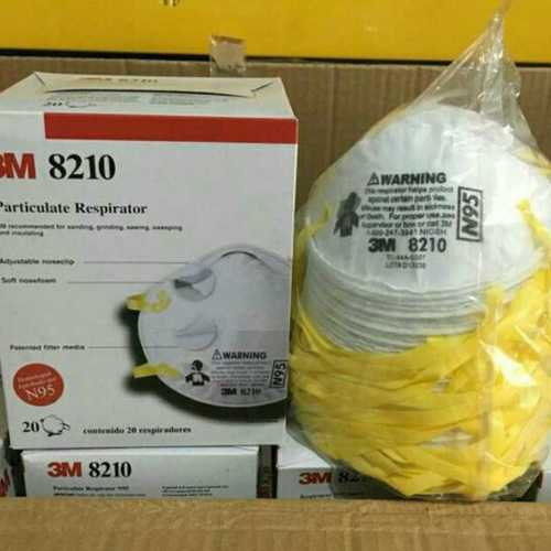 Particulate Respirator 3M 8210 N95 Mask