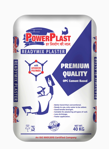 Ready Mix Plaster (PowerPlast)