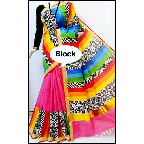 Skin-Friendly Ladies Fashionable Saree