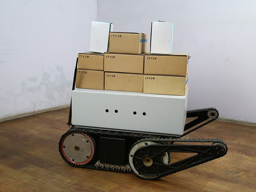 Warehouse Smart Delivery Trolley