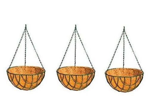 Wire Round Hanging Baskets
