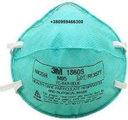 3M 1860, N95 Particulate Respirator Face Mask