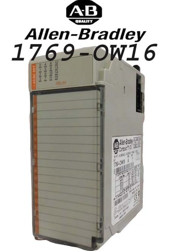 Allen-Bradley 1769-OW16 16 Compact Digital Outputs Micrologix 1500