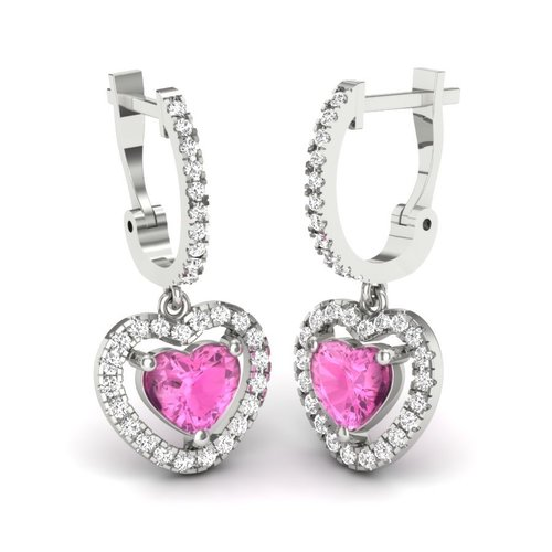 Attractive Sterling Silver Earrings