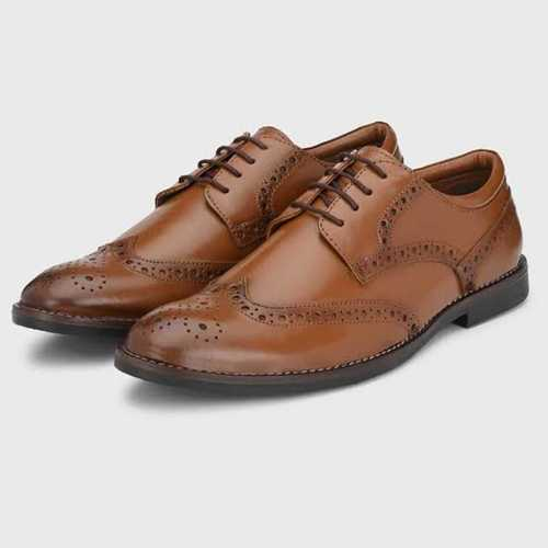 Brown Color Designer Leather Shoes