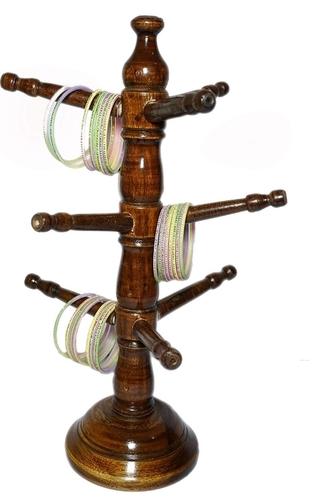 Designer Wooden Bangle Stand